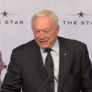 JERRY JONES OFFICIALLY HOF