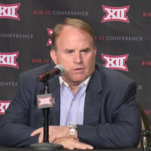 BIG 12 MEDIA DAYS: GARY PATTERSON