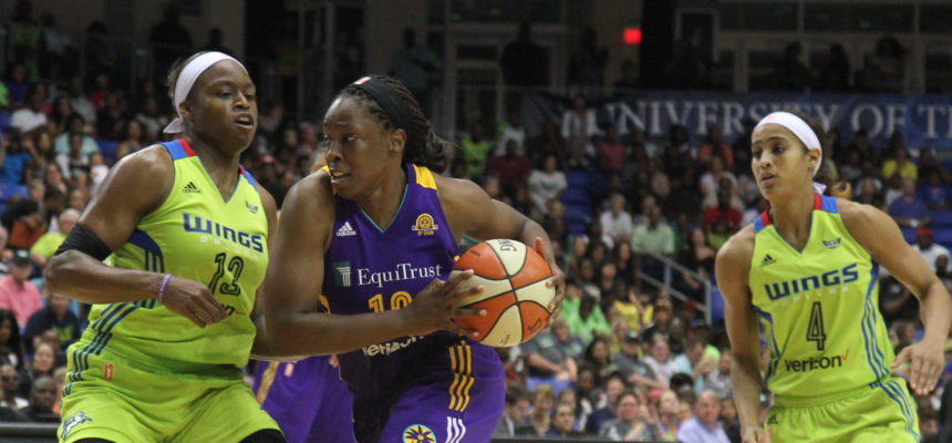 SPARKS ESCAPE WITH A 87-79 WIN OVER WINGS