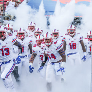 SMU BEATS LIBERTY 29-14