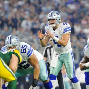 COWBOYS OFFENSIVE LINE NAMED BUILT FORD TOUGH