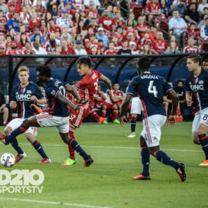 FC DALLAS WINS HOME OPENER 2-1