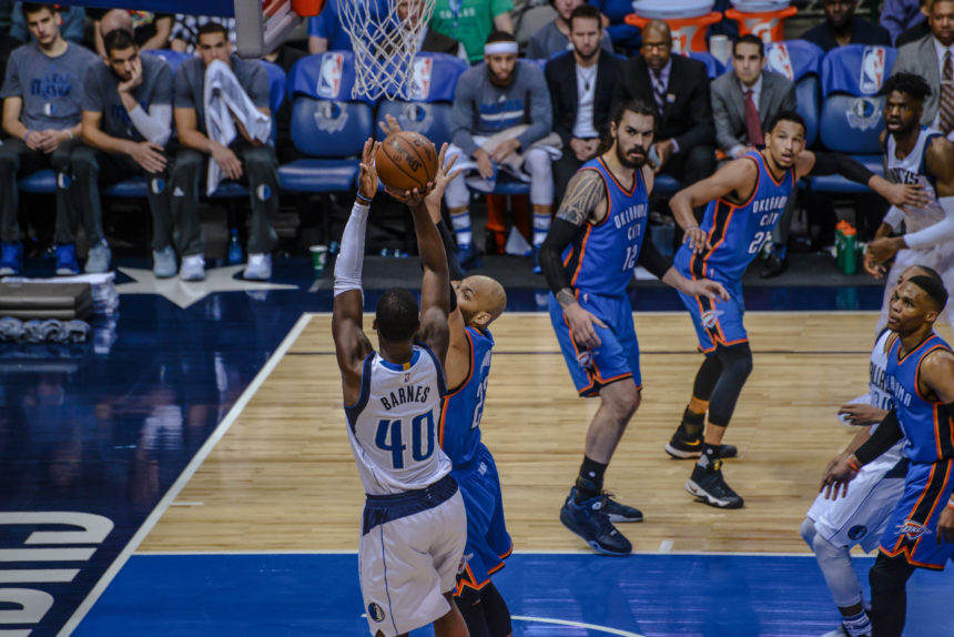 MAVERICKS ROLL PAST OKC