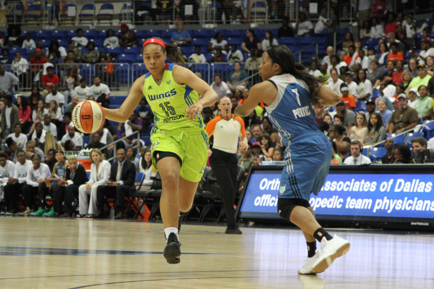 ALLISHA GRAY NAMED WNBA ROOKIE OF THE MONTH FOR JUNE