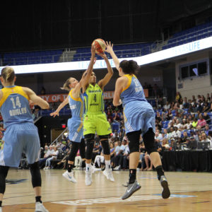 DIGGINS-SMITH'S THREE LIFTS WINGS TO VICTORY