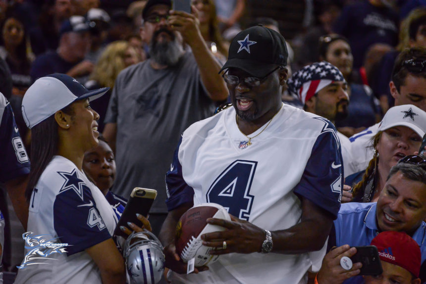 COWBOYS OPEN TRAINING CAMP AT THE STAR