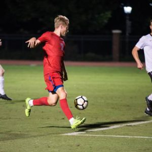 SMU MENS SOCCER SNAPS BROWNS' WIN STREAK