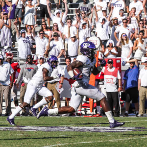 TCU TAKES THE IRON SKILLET