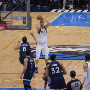 DIRK NOWITZKI PASS HAKEEM OLAJUWON ON ALL-TIME LIST